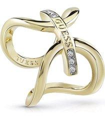 anillo guess future essencial/ubr84046-54 - dorado