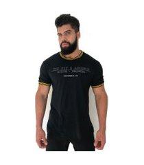 camiseta advance clothing college deluxe preto