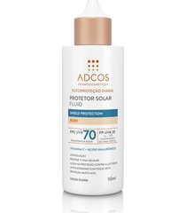 protetor solar fluid shield protection fps 70 colors nude - 50ml
