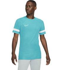 nike t-shirt dri-fit academy top aquamarine
