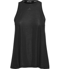 dance tank top w t-shirts & tops sleeveless svart adidas performance