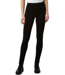 akris punto maro thermo jersey leggings, size 14 in black at nordstrom