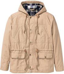 giacca da mezza stagione con cappuccio (beige) - rainbow