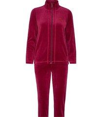 set-sweat sweat-shirts & hoodies tracksuits - sets röd brandtex