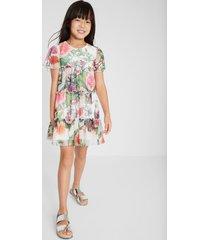 short ruffle dress - white - 5/6