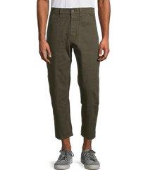 rag & bone men's cotton pants - dark olive - size 32