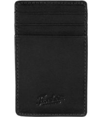 men's florsheim leather-wrapped magnetic money clip card case