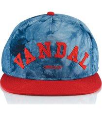 gorra azul official blue vandal