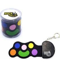 llavero micro batería flexible rock and roll it negro regalos clicker