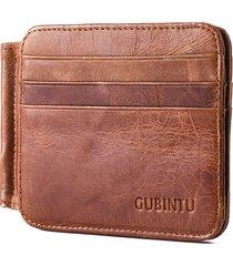 vera pelle bifold wallet 12 card slots casual pacchetto di carte vintage per uomo