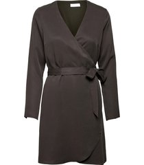 2nd darlene thinktwice dresses wrap dresses brun 2ndday