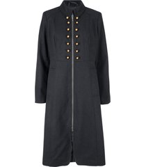 cappotto in stile militare (nero) - bpc bonprix collection