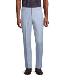 bonobos men's jetsetter cotton pants - light blue - size 33 34