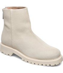 jessica zip boot shoes boots ankle boots ankle boots flat heel beige filippa k