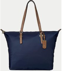 tommy hilfiger women's classic zipper tote tommy navy -