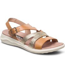 c-5621 shoes summer shoes flat sandals beige wonders