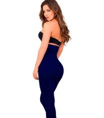 calza modelador faja 22 cm 100% lycra  azulmarino moda libre