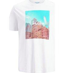 t-shirt jorcafe tee ss crew neck ps