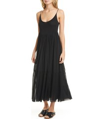 women's vince gathered camisole dress