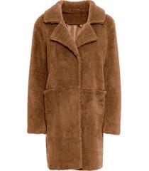 cappotto in pellicciotto sintetico (marrone) - bodyflirt