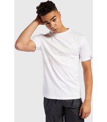 polera reebok ts pride pack t-shirt blanco - calce regular