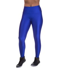 legging miss blessed 3d poliamida azul