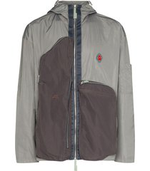 a-cold-wall* passage panelled jacket - grey