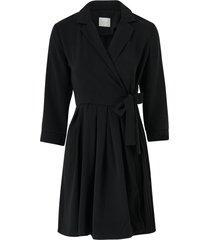 omlottklänning vidwell 3/4 sleeve dress