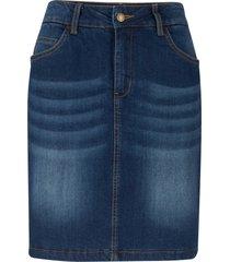 gonna termica di jeans (blu) - john baner jeanswear