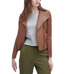 marc new york felix asymmetrical leather moto jacket
