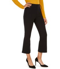 spanx the perfect petite black pant cropped flare pants