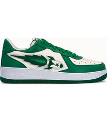 enterprise japan sneakers low colore bianco verde