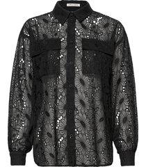 tanza overhemd met lange mouwen zwart stella nova