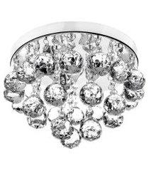 lustre de cristal legitimo classic round 25x20 maravilhoso