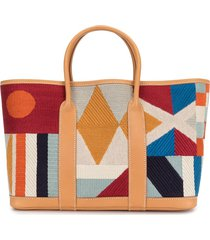 hermès 2012 pre-owned garden party tote bag - multicolour