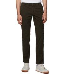 boss men's schino regular open green pants