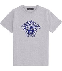 young versace printed cotton t-shirt