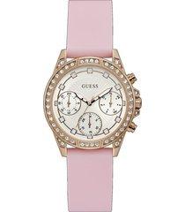 reloj guess gemini gw0222l3 - rosado