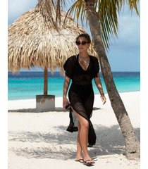 urban black maxi dress