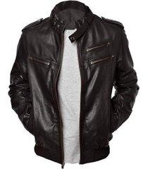 men's leather jackets, men black leather jacket, men belted collar biker jacket
