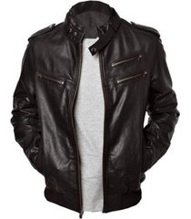 men's leather jackets, men black leather jacket, men belted collar biker jacket