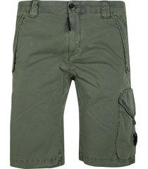 c.p. company twill stretch cargo shorts