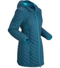 giacca trapuntata leggera con sacchetto (petrolio) - bpc bonprix collection