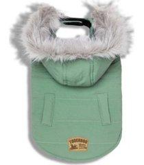 touchdog 'eskimo-swag' duck-down parka dog coat x-large