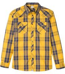 camicia a maniche lunghe (giallo) - john baner jeanswear