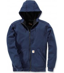 carhartt vest men wind fighter hooded sweatshirt navy-xl