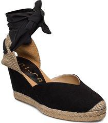 chufy_ks sandalette med klack espadrilles svart unisa