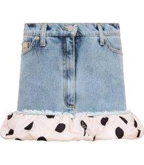 natasha zinko light blue skirt for girl