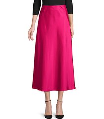 side-zip midi skirt