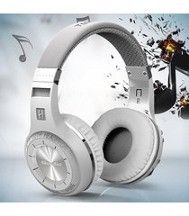 audifonos bluetooth, bluedio ht auriculares audifonos bluetooth manos libres  auriculares estéreo audifonos bluetooth manos libres  auriculares inalámbricos micrófono incorporado manos libres para teléfonos música (blanco)
